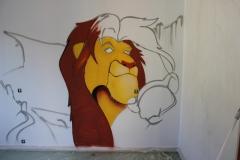 """Décoration """"Le roi Lion"""""""