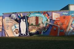 Mur rue Simone Signoret - Amiens
