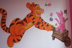 Déco Disney - Tigron et Porciné