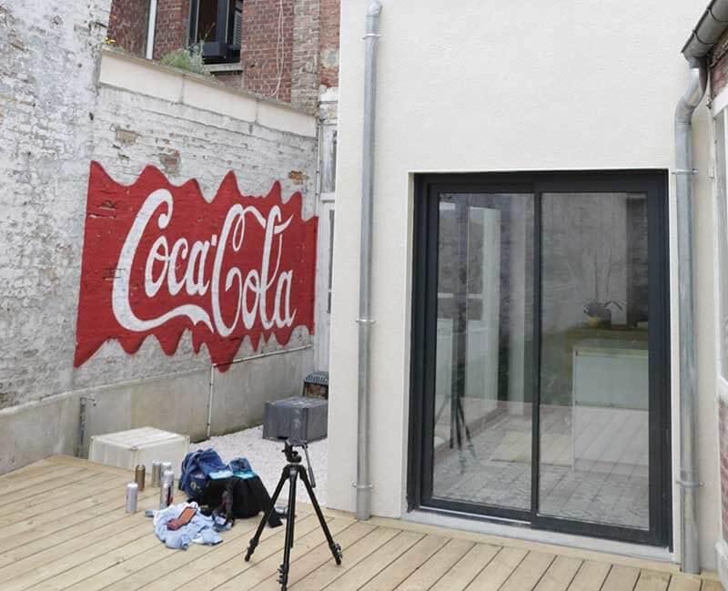 Décoration particulier Coca-Cola